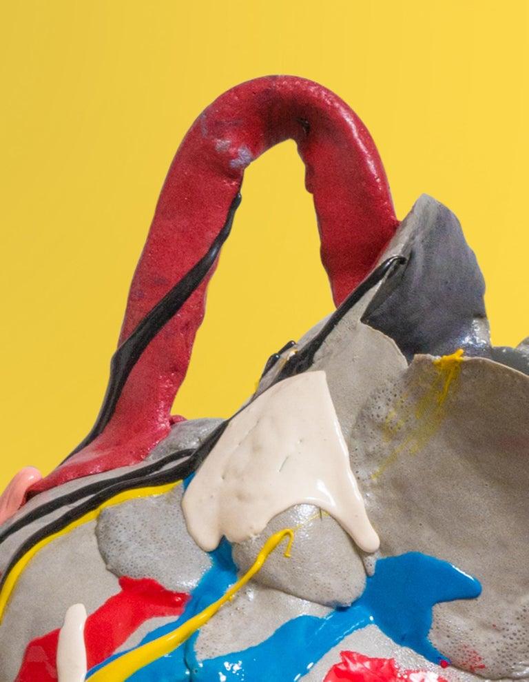 Multicolored Contemporary Foam Vase 11