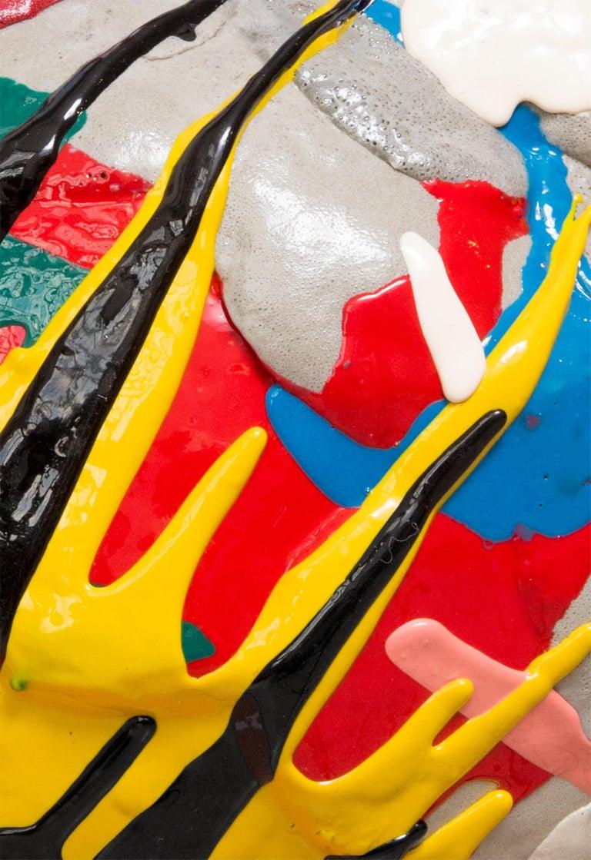 Multicolored Contemporary Foam Vase 3