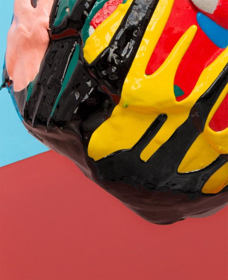 Mehrfarbige Zeitgenössische Schaum Vase 4