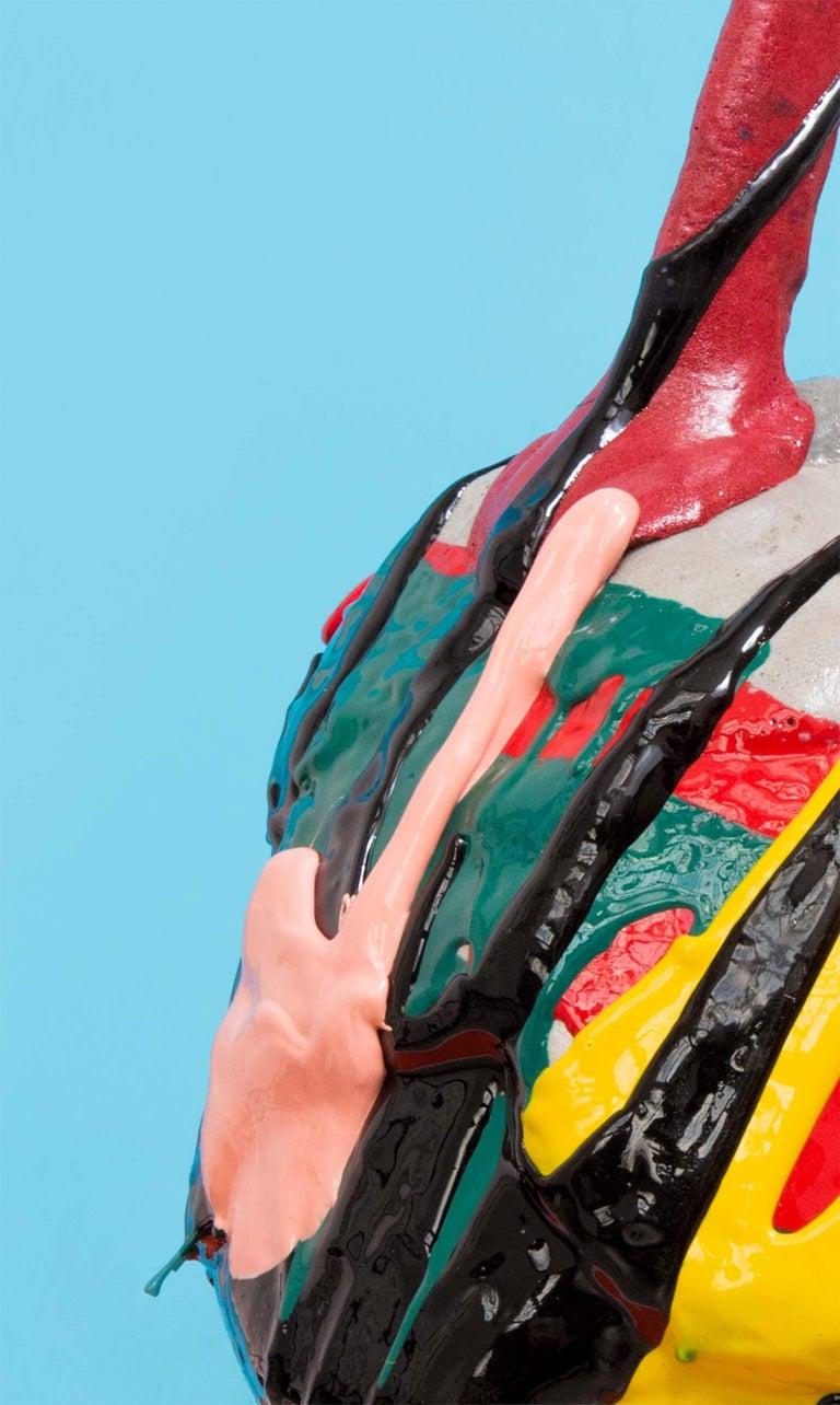 Mehrfarbige Zeitgenössische Schaum Vase 5
