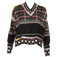 Multicolored Jean Paul Gaultier Wool Sweater