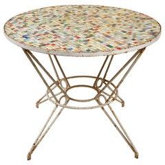 Multicolored Tile Table