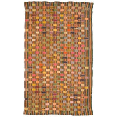 Multicolored Vintage African Ewe Fabric