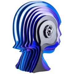 """""""Multidimensional's Head"""" Sculpture by Rudolf Kohn, USA, 2018"""