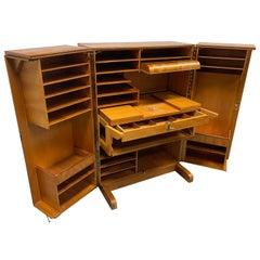 "Mummenthaler & Meier Desk-in-a-Box or ""Magic Box"" Work Station Desk Secretary"