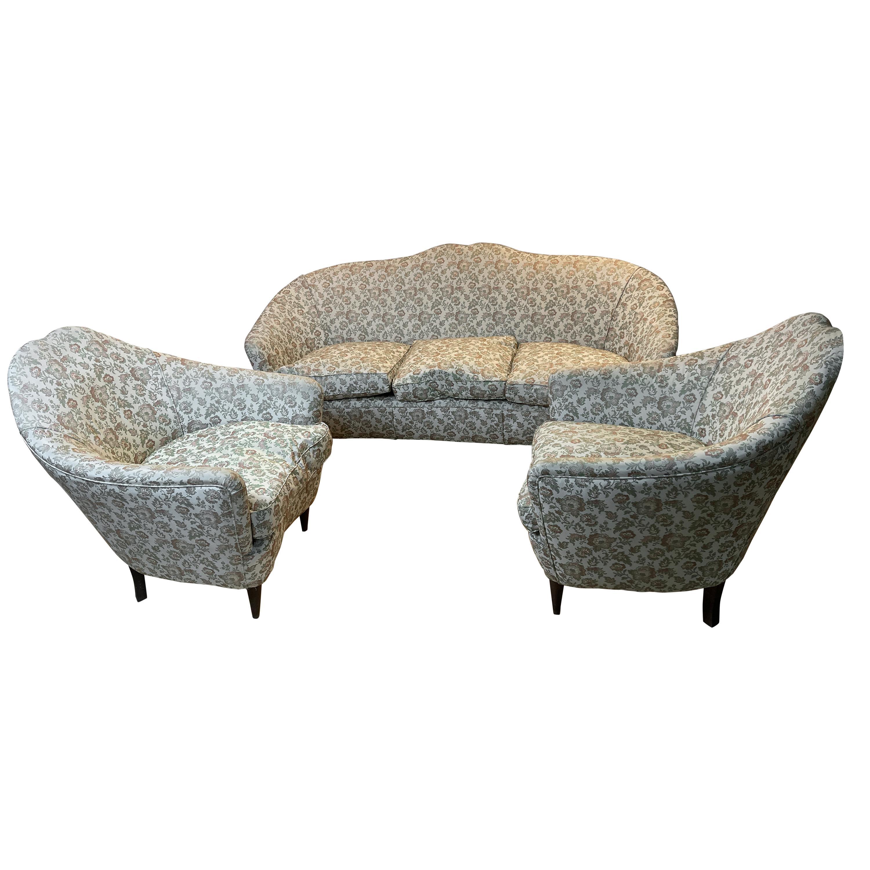 Munari Sofa and 2 Armchairs