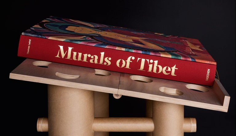Murals of Tibet In Excellent Condition For Sale In Los Angeles, CA