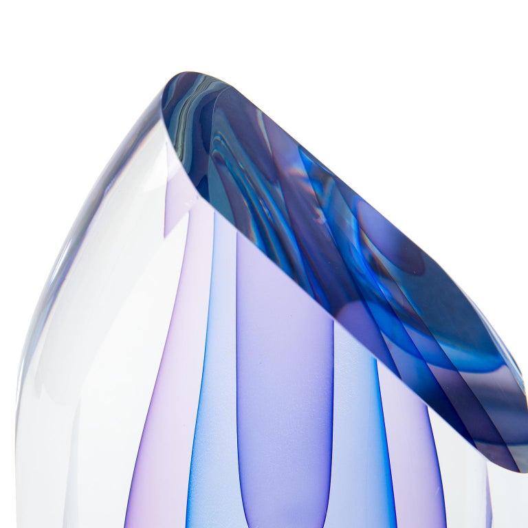 Hand-Crafted Murano Art Glass Sculpture after Luigi Onesto