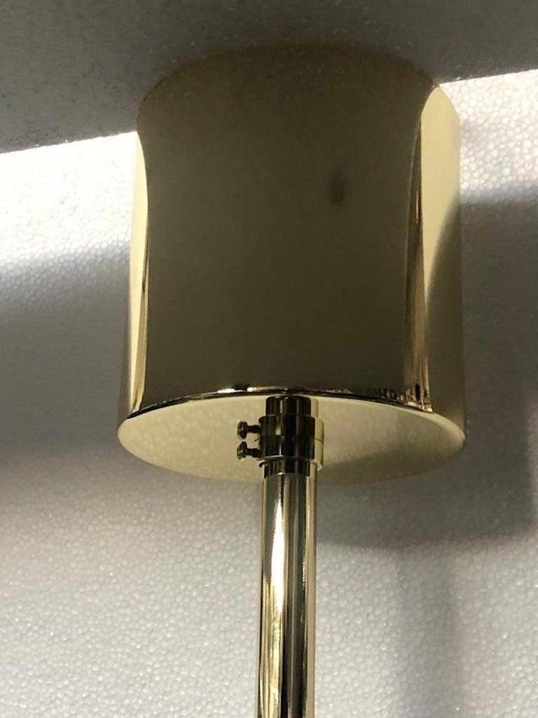 Late 20th Century Murano Art Glass Sputnik Mid-century Chandelier, 1980 For Sale
