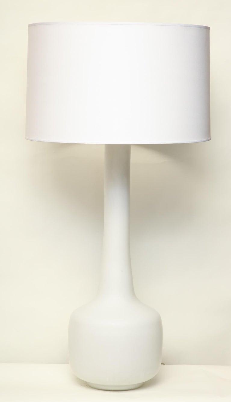 Italian Murano Art Glass Table Lamp Mid-Century Modern, Italy, 1960s For Sale