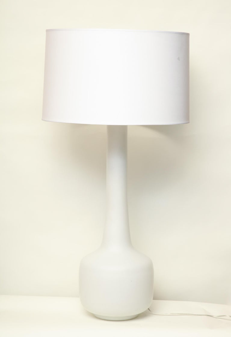 Mid-20th Century Murano Art Glass Table Lamp Mid-Century Modern, Italy, 1960s For Sale