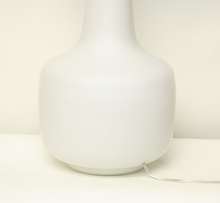 Murano Art Glass Table Lamp Mid-Century Modern, Italy, 1960s For Sale 1