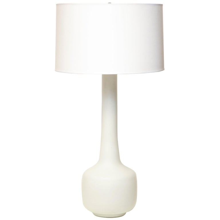 Murano Art Glass Table Lamp Mid-Century Modern, Italy, 1960s For Sale