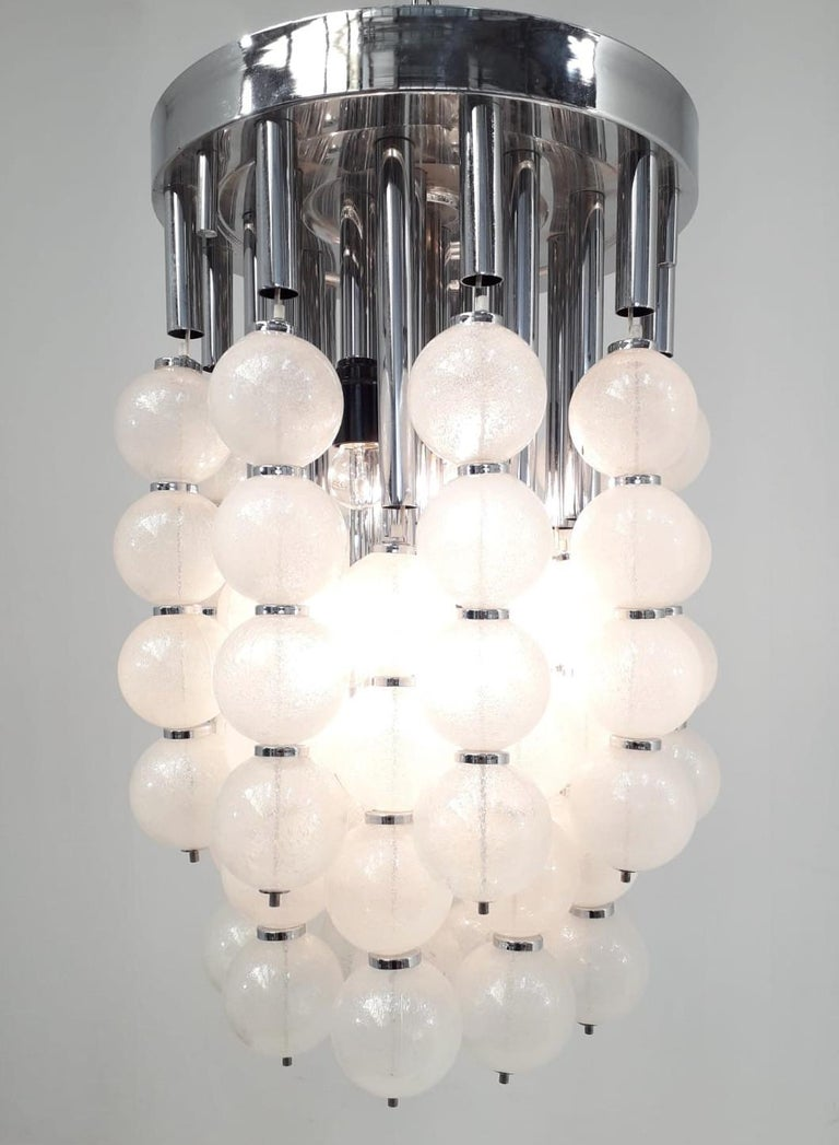 Mid-Century Modern Murano Balls Flush Mount or Pendant For Sale