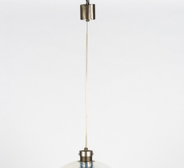 Murano Chandelier Hanging Pendant for Mazzega by Carlo Nason In Good Condition For Sale In Fingest, Oxfordshire