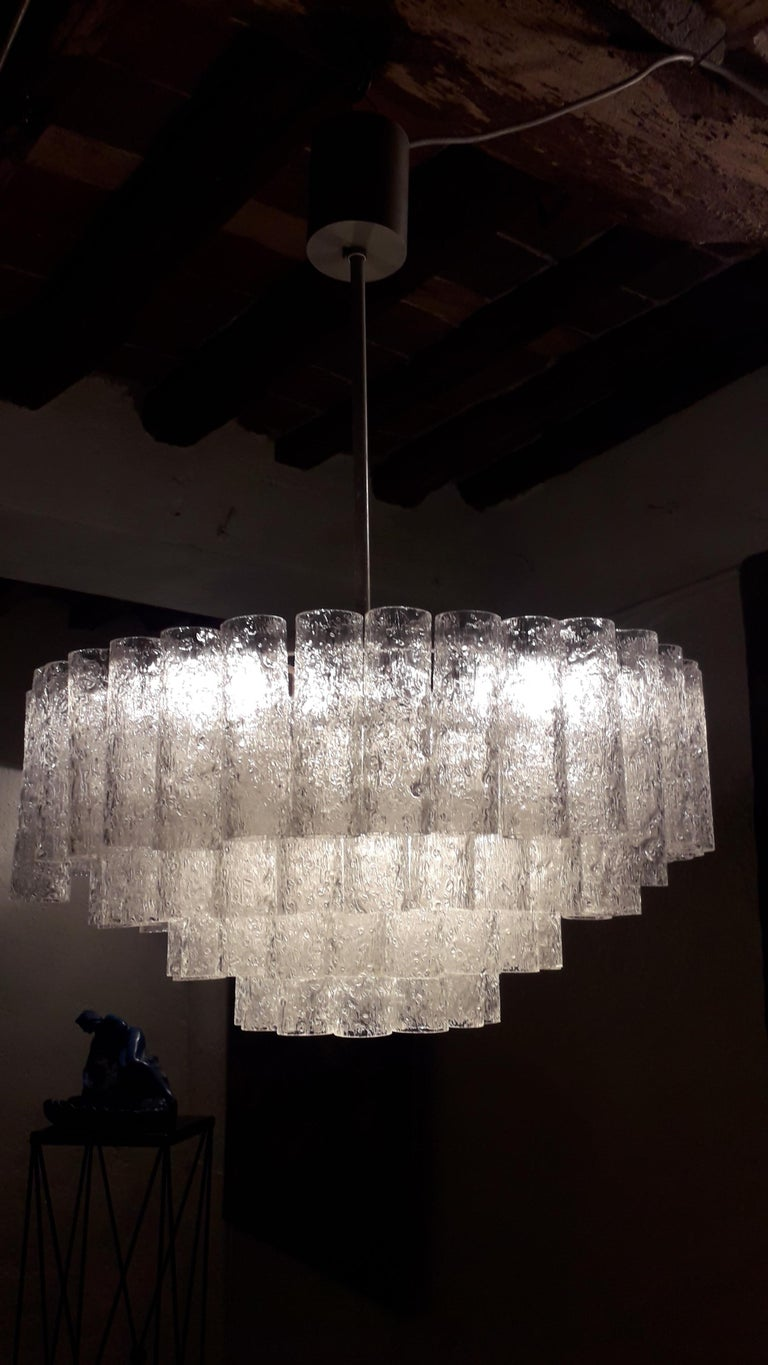 Murano Chandelier Mid-Century Modern In Good Condition For Sale In Tuscany, IT