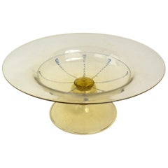 Murano Compote Bowl by Martinuzzi for Cappellin
