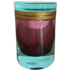 Murano Cylinder Box
