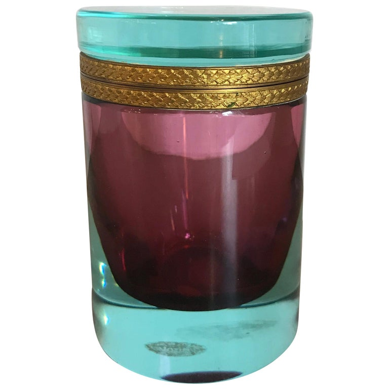 Murano Cylinder Box For Sale