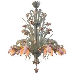 Murano Flower Chandelier