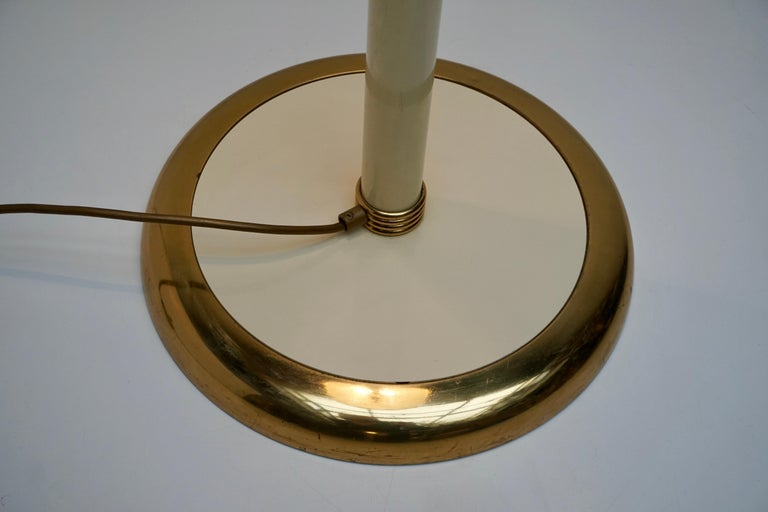 Murano Glass and Brass Floor Lamp For Sale 5