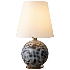 Murano Glass and Brass Lamp Made by La Murrina