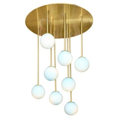 "Murano Glass ""Atoms"" Chandelier"