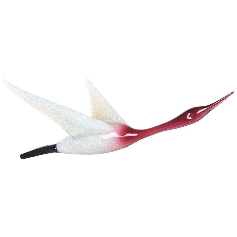 Murano Glass Bird by Murano Manufacture, 1970s