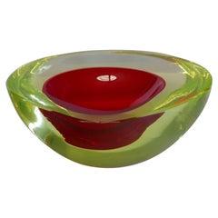 Murano Glass Bowl by Antonio da Ros for Gino Cenedese circa 1960