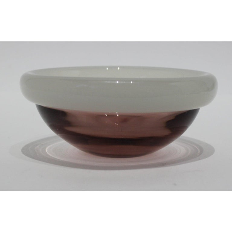 Murano Glass Bowl by Seguso For Sale 3