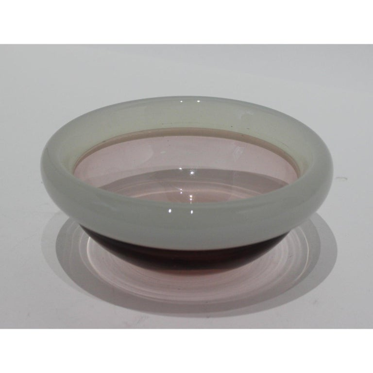Murano Glass Bowl by Seguso For Sale 1