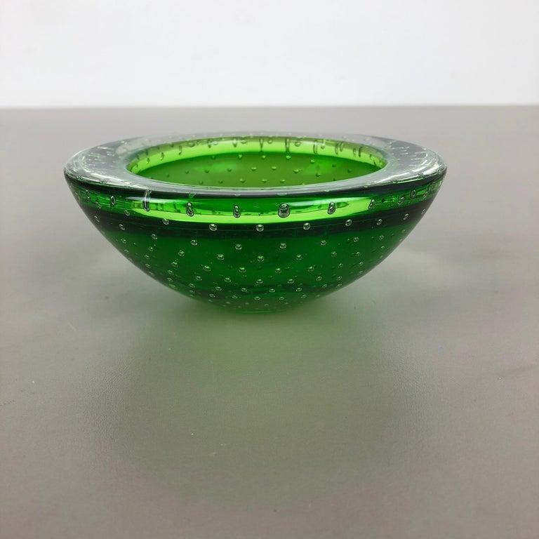 20th Century Murano Glass Bullicante