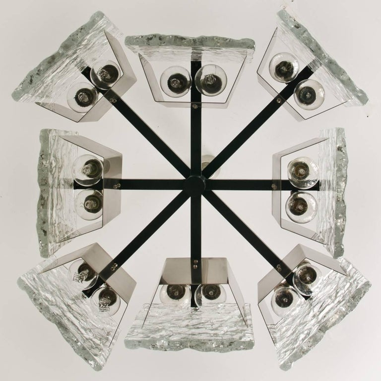 20th Century Murano Glass Ceiling Light from Kalmar, 1960s For Sale