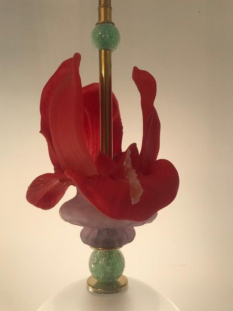 Murano Glass Ceiling Pendants, Set of Four 2