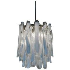 Murano Glass Chandelier by Mazzega