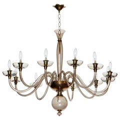Murano Glass Chandelier by Pietro Toso