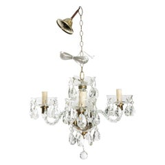 Late 19th Century Antique Murano Glass Chandelier