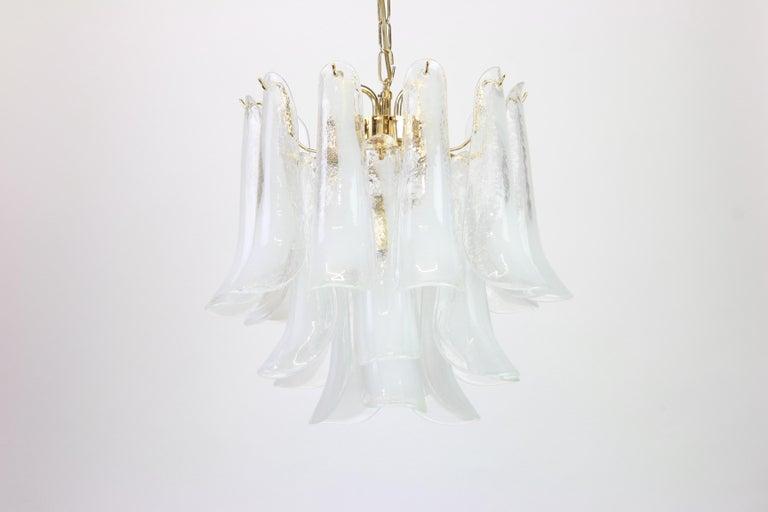 Murano Glass Chandelier Designed by Carlo Nason for Mazzega, 1970s 2