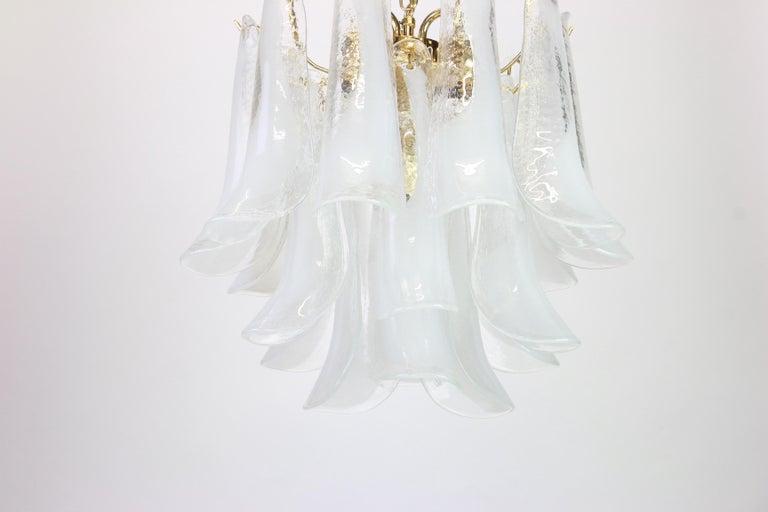Murano Glass Chandelier Designed by Carlo Nason for Mazzega, 1970s 3