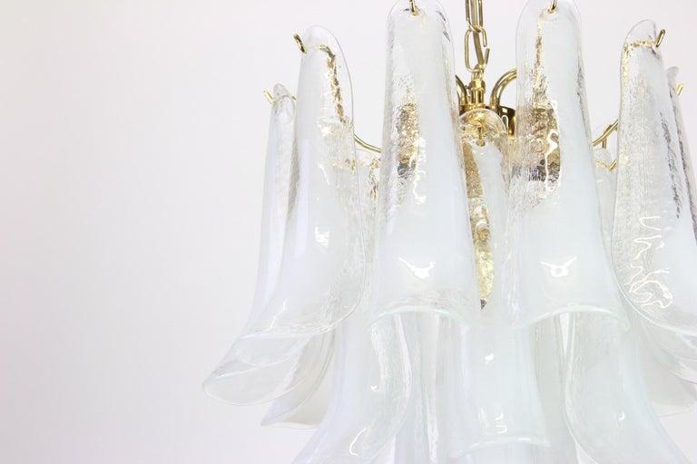 Murano Glass Chandelier Designed by Carlo Nason for Mazzega, 1970s 4