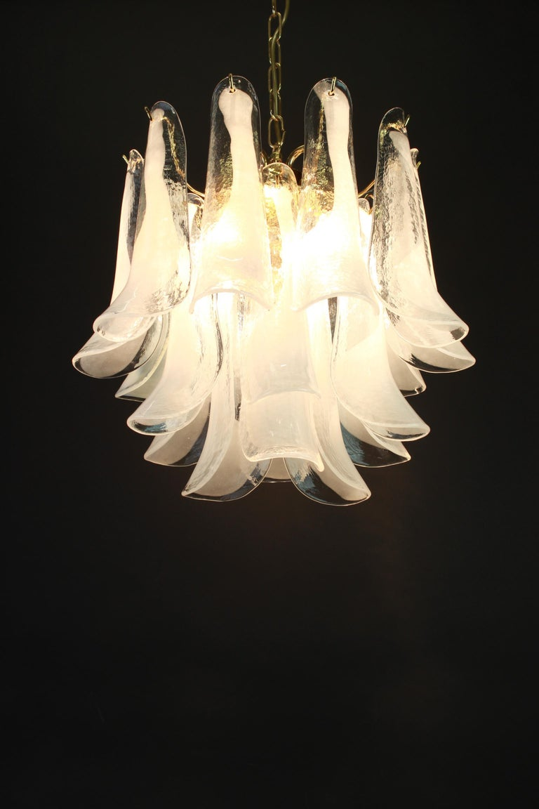 Murano Glass Chandelier Designed by Carlo Nason for Mazzega, 1970s 8
