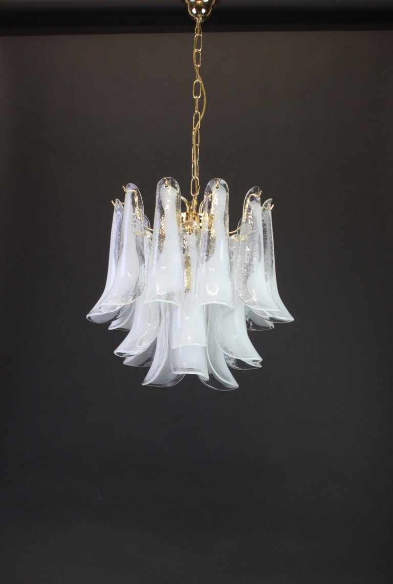 Murano Glass Chandelier Designed by Carlo Nason for Mazzega, 1970s 9