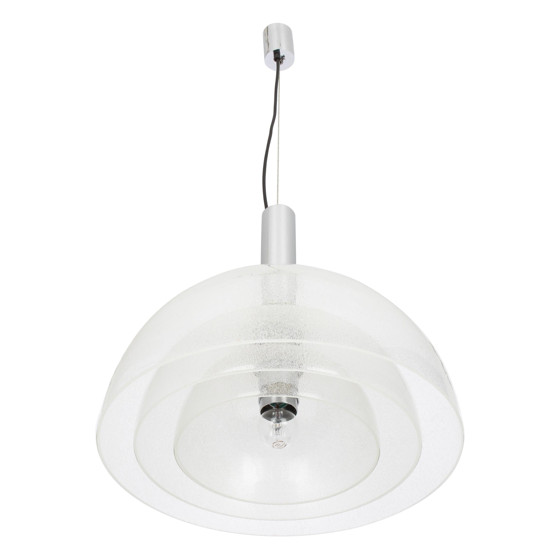 Murano Glass Chandelier Designed by Carlo Nason for Mazzega, Italy, 1960s