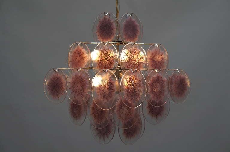 Italian Murano Glass Chandelier, Italy For Sale 2