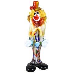 Murano Glass Clown, Italy, circa 1950