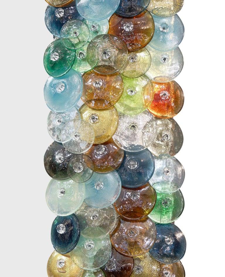 """Murano Glass """"Coriandoli"""" Mirror For Sale 3"""