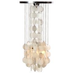 Murano Glass Disc Chandelier