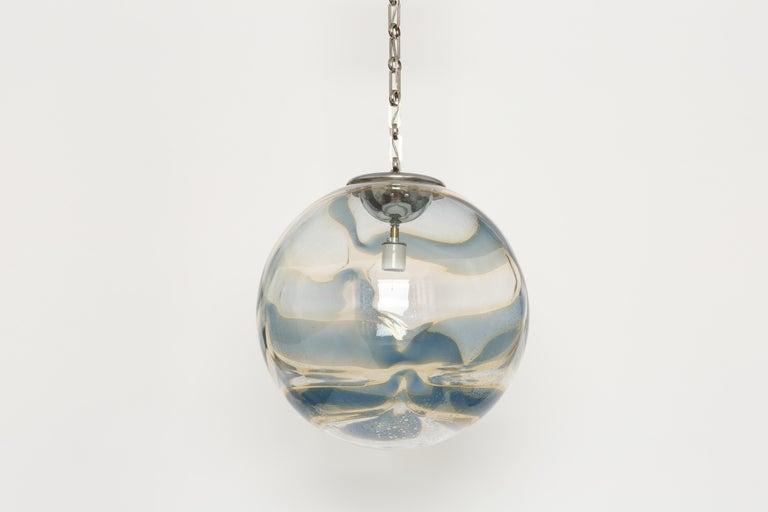 Murano Glass Globe Pendant For Sale 3