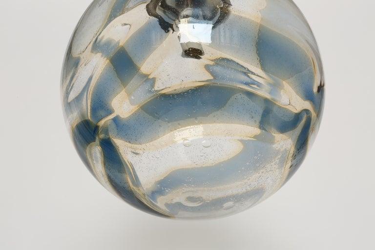 Murano Glass Globe Pendant For Sale 5