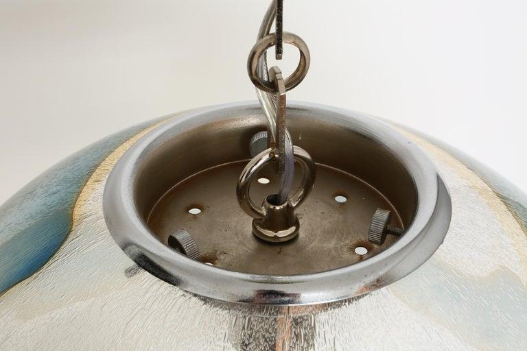 Murano Glass Globe Pendant For Sale 9